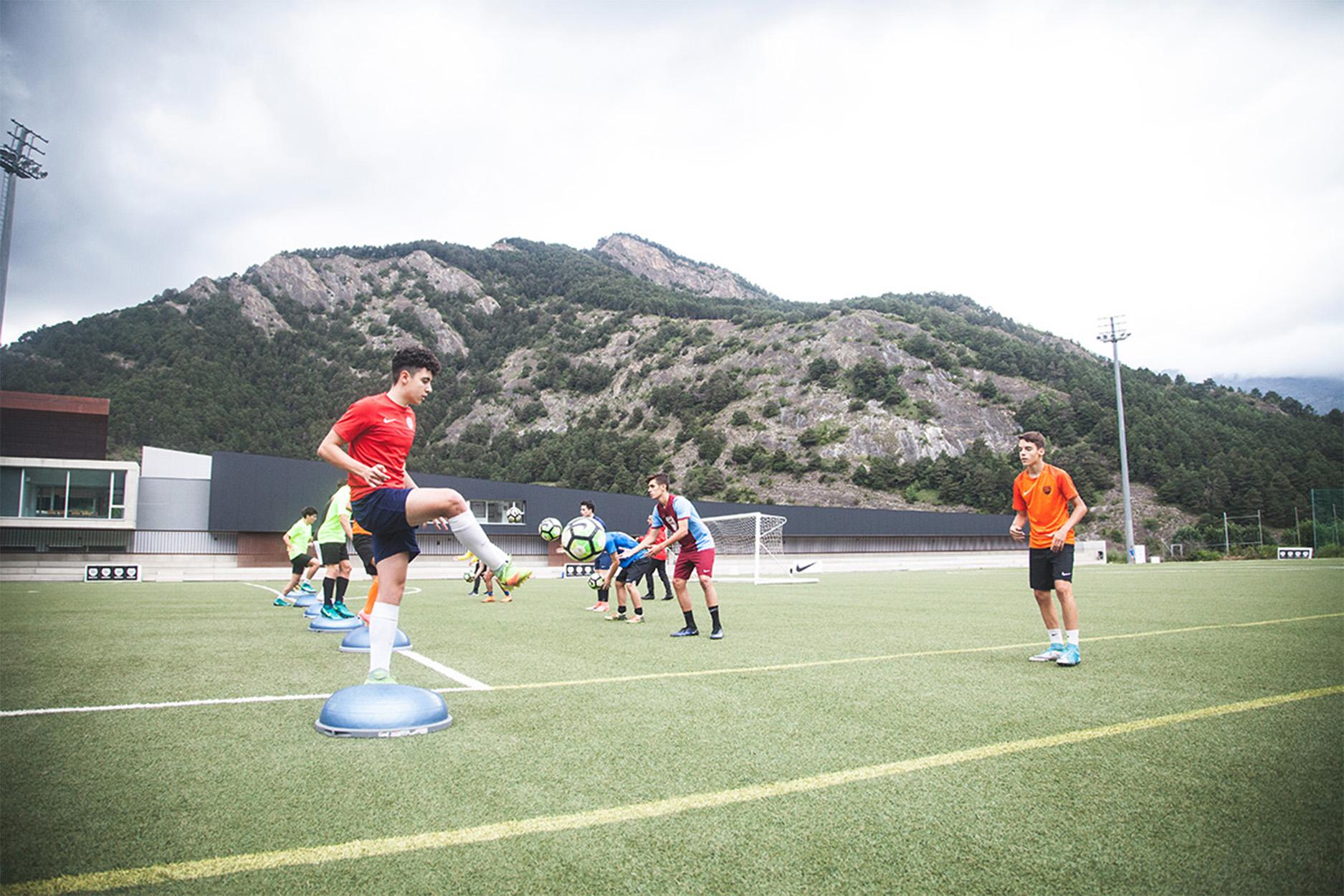 tecnificacion futbol, Área Profesional