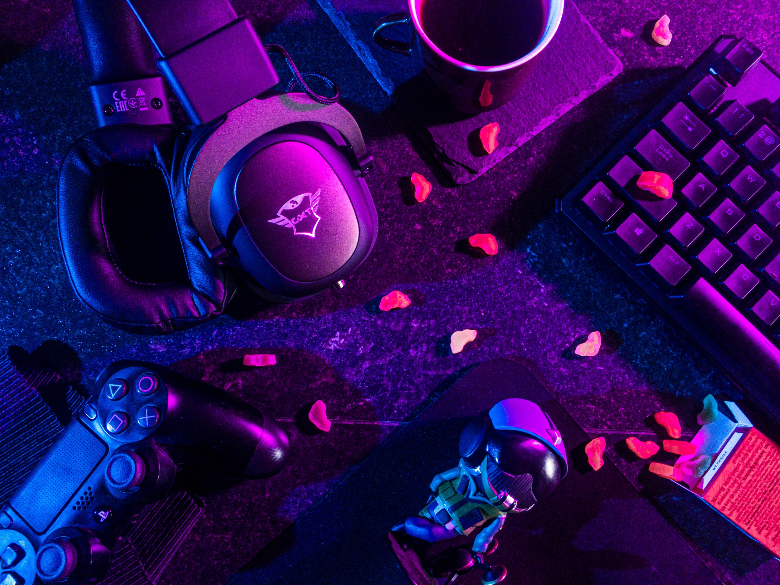 Material gaming para streamer twitch